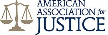 Logo Recognizing Clark & Steinhorn, LLC's affiliation with American Association for Justice