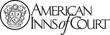 Logo Recognizing Clark & Steinhorn, LLC's affiliation with American Inns of Court