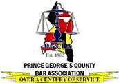 Logo Recognizing Clark & Steinhorn, LLC's affiliation with Prince George's County Bar Association