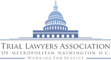 Logo Recognizing Clark & Steinhorn, LLC's affiliation with Trial Lawyers Association of D.C.