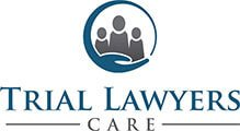 Logo Recognizing Clark & Steinhorn, LLC's affiliation with Trial Lawyers Care